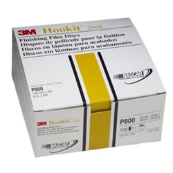 "Hookit Finishing Film Discs 6"" P800"